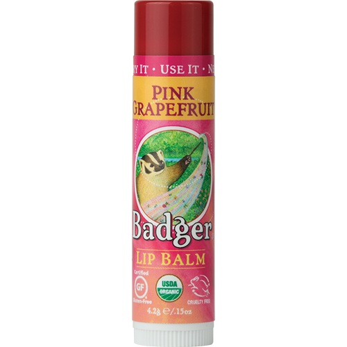 Pink Grapefruit Organic Lip Balm by Badger