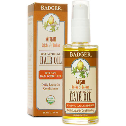 Organic Argan Hair Oil for Dry & Damaged Hair