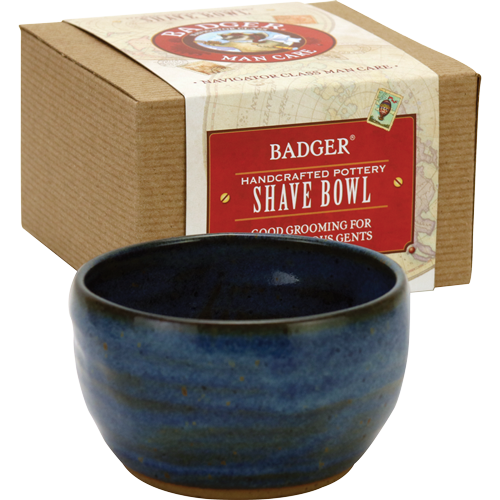 Handmade Pottery Shaving Bowl