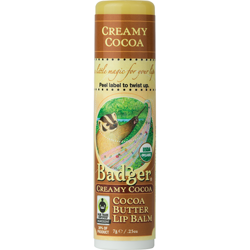 Unscented Lip Balm with Organic Cocoa Butter