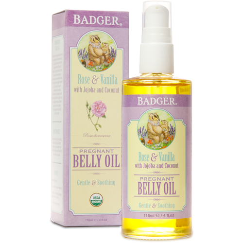 Natural Organic Pregnant Belly Oil