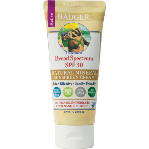 unscented sunscreen water resistant zinc oxide
