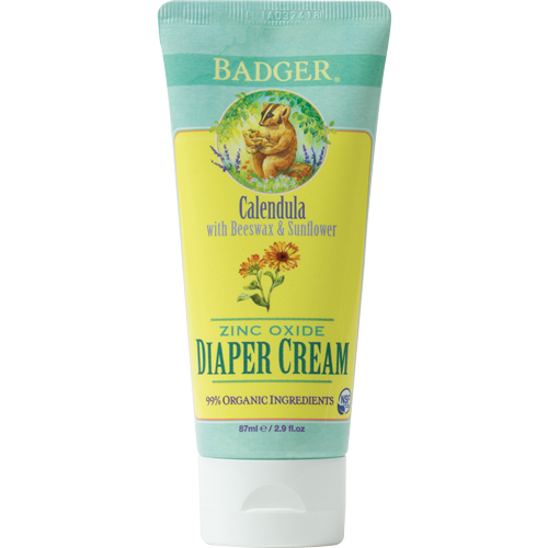 Natural Organic Zinc Oxide Diaper Rash Cream