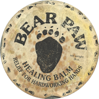 Original Bear Paw artwork; the name was later changed to Badger